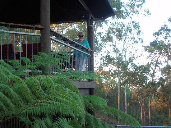Mia Mia Bed and Breakfast : An evening drink on the veranda