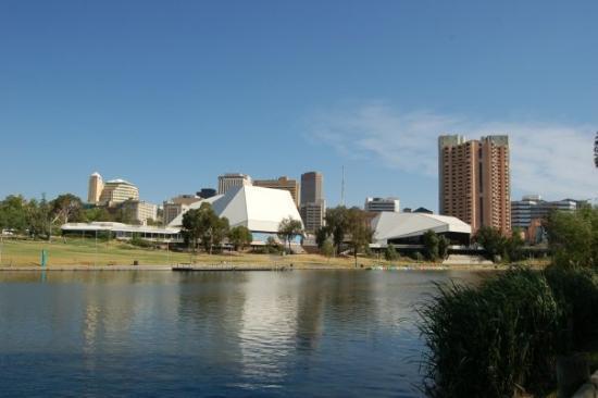Adelaide Festival Centre....