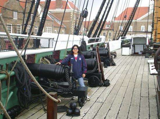 Hartlepool, UK : on the marina museum june 2007