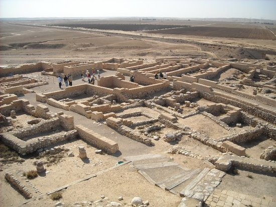 Tel Arad or 'old' Arad is located west of the Dead Sea, about 10km ...