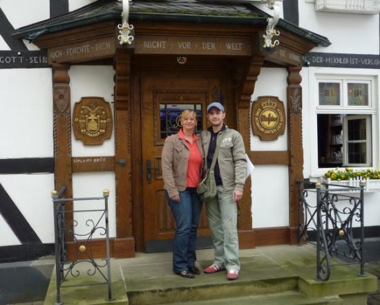 Dortmund, Germany: Trip to Warsteiner Brewery (with Petra - Warsteiner employee)