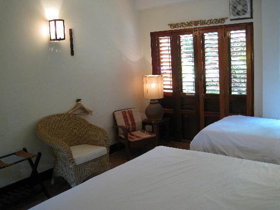 Lotus Villa Boutique Hotel: Our room (triple)