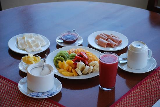Buchupureo, Chile: delicious breakfast