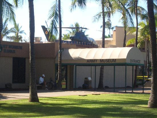 US Army Museum of Hawaii : museum entrance