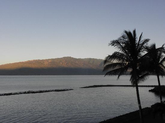 Menehune Shores: sunset views from terrace