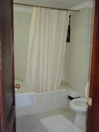 Classic Hotel: The bathroom