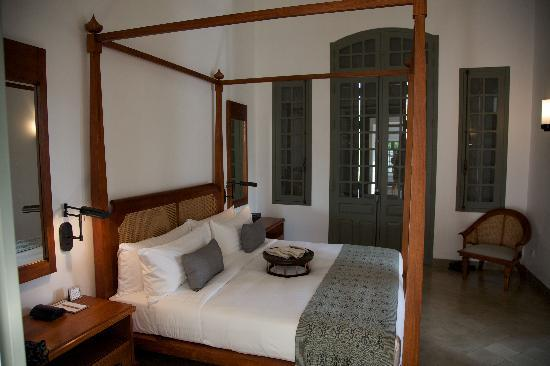 Amantaka: Our bedroom area of the pool suite
