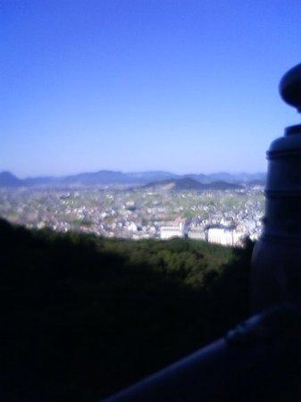 Kotohira-gu Shrine : 頂上からの景色
