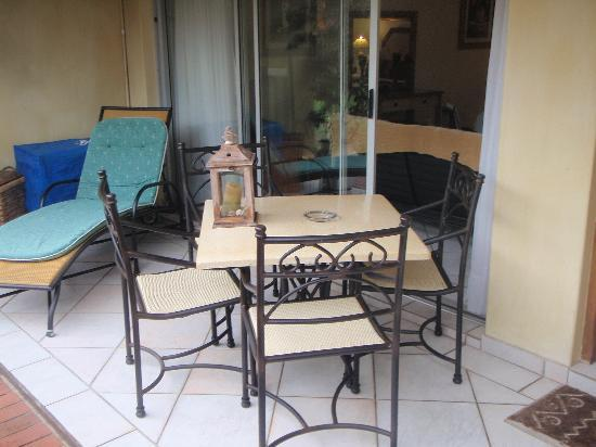 Anchor's Rest : Outdoor Private Patio