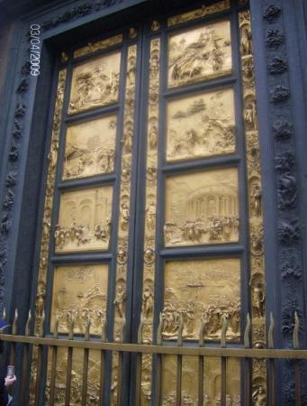 Baptistery of San Giovanni (Battistero): Solid gold doors of the Santa Maria Baptistry & Solid gold doors of the Santa Maria Baptistry. - Picture of ... Pezcame.Com