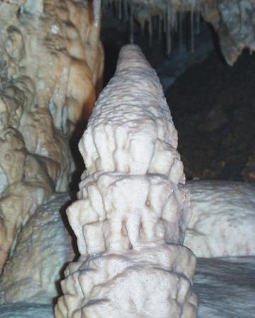 Serik, Turki: zeytintaşı mağarası