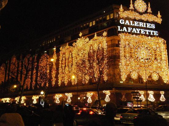 Paris, France: galeries lafayette