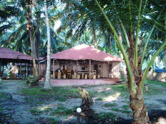 Island Vinnies Tropical Beach Cabana: Restaurant