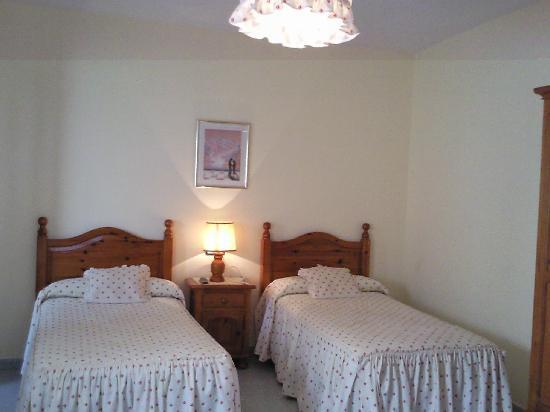 Hostal Malaga: Habitacion de 2 camas