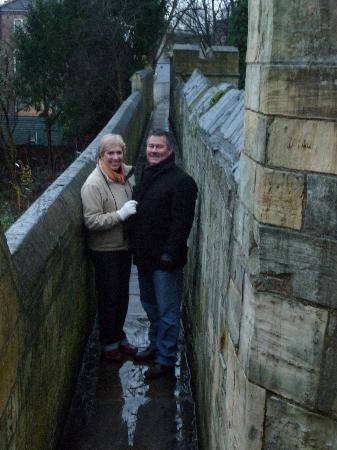 The Saxon House: York wall