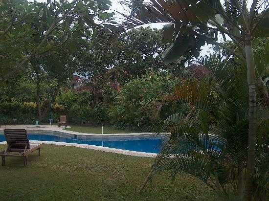 Bali Wirasana Hotel: het nieuwe zwembad