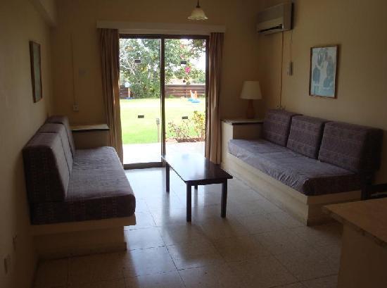 Mon Repos Design Hotel : The living room