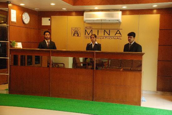 Hotel Mina International: Reception staff (decent,helpfull)
