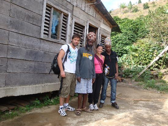 Jah B's Guesthouse: with JAH B and Rashah