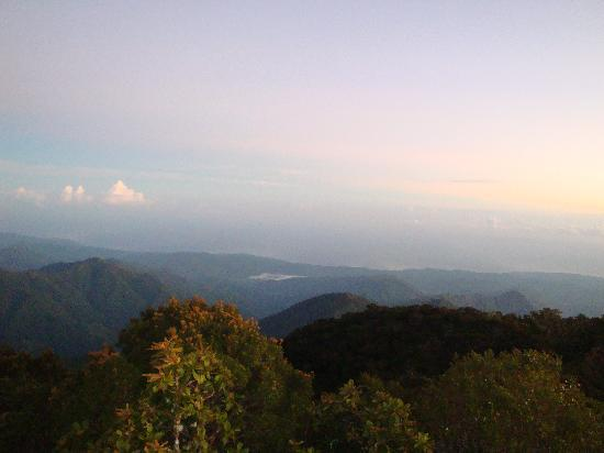 Blue Mountains National Park, Jamaica: View from the peak