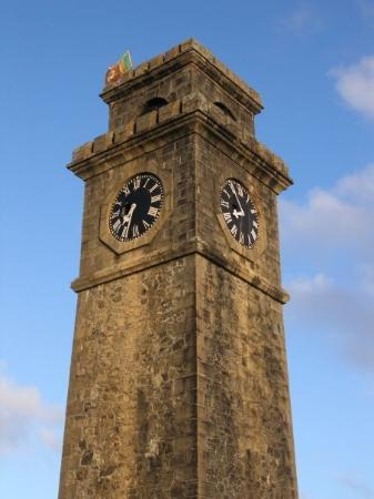 Clock tower picture of old town of galle and its - The house in the old franciscan tower ...