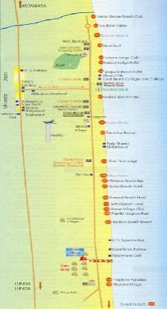 Ocean Village Club: Plan de Diani beach
