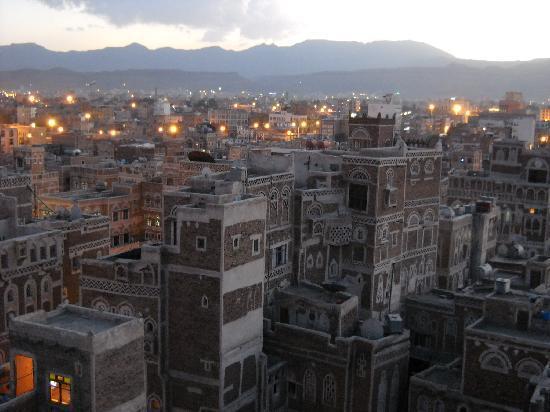 Old City of Sanaa : Sana'a dall'alto1