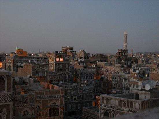 Old City of Sanaa : Sana'a dall'alto2