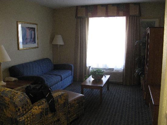 Hampton Inn & Suites Fort Myers Beach / Sanibel Gateway: Living Area - Suite 424