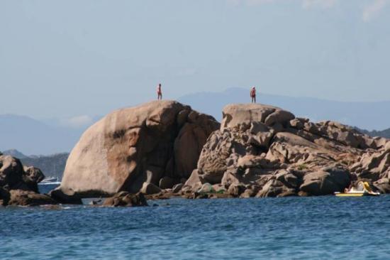 La Maddalena, Italia: twin peaks,baia sardinia