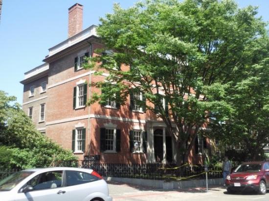 The Custom House: the cluedo house.