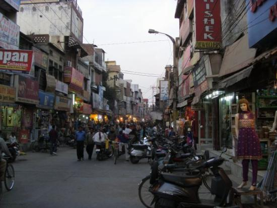 Jalandhar, Indien: shopping in indien