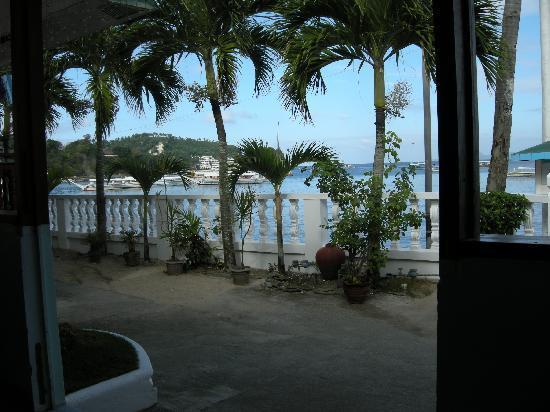 Seashore Beach Resort: Another view from Seashore Restaurant