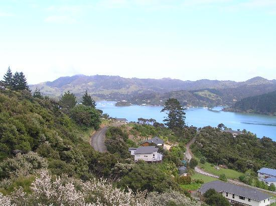 Waimanu Lodge Whangaroa Northland: View from our unit