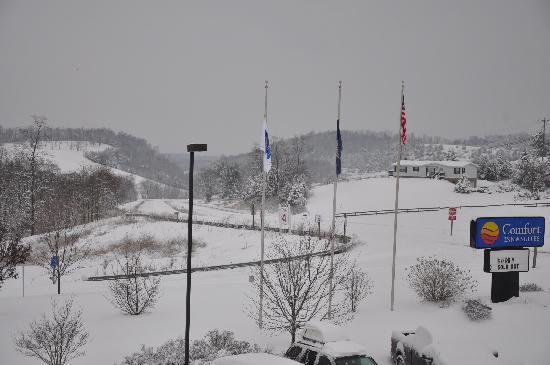 Comfort Inn & Suites : Blizzard of Dec 2009