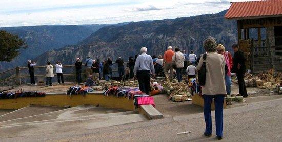 Divisadero, Meksiko: Acceso  Principal