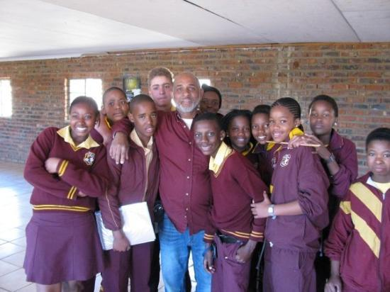 Rustenburg, South Africa: After Bible study - Grades 6, 7, 8