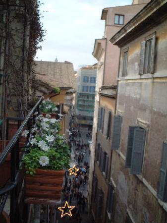 Pantheon View Bed and Breakfast : ホテル ベランダからの眺め
