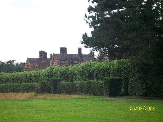 Thornton Manor: The view from East Lodge