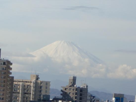 Manpukuji Temple: 美しい富士山