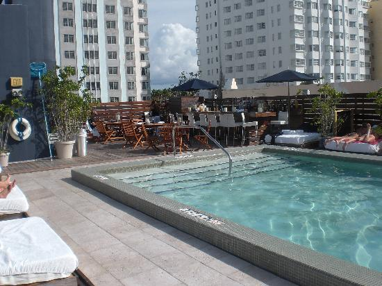 Roof Pool Picture Of Catalina Hotel Amp Beach Club Miami