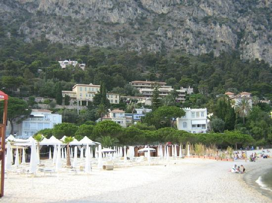 Hotel Riviera: plage Petite afrique