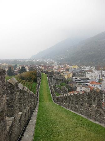 Bellinzona, Suiza: castelgrande