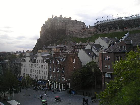 Apex City of Edinburgh Hotel: vista dall hotel2