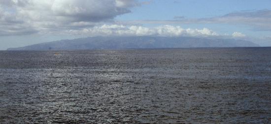 la gomera from puerto de santiago