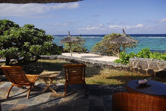 La Maison d'Eté Hotel : The view from the bungalow