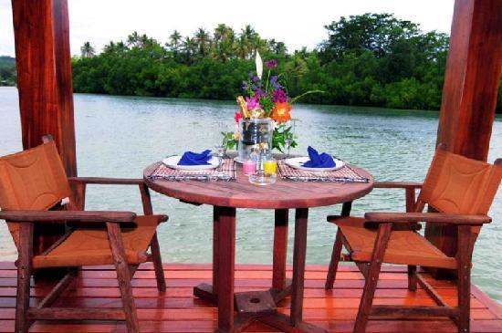 Cocomo Resort: Your view from Deluxe Overwater V illa