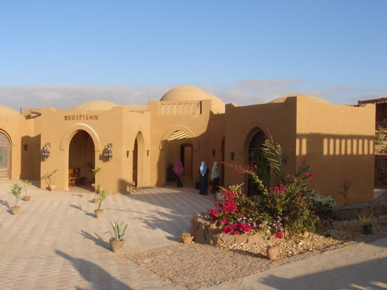 Entrance to the Badawiya Dakhla Hotel