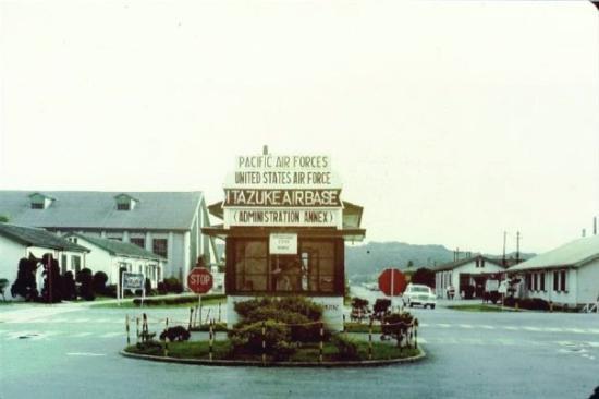 I was born here at Itazuke Air Base, Fukuoka, Japan; April