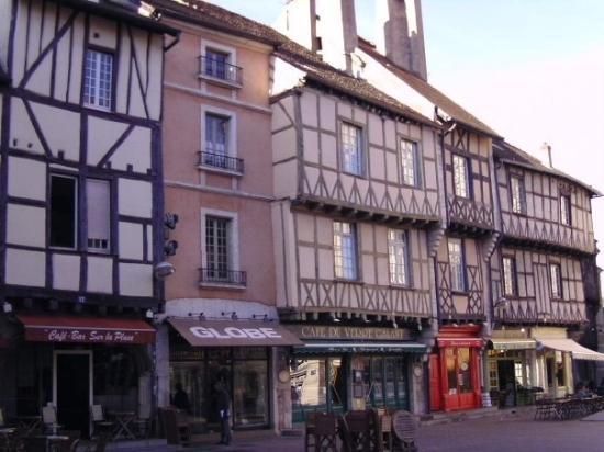 Chalon-sur-Saone, Prancis: Chalon sur Saône, Palce de la ville St-Marcil France